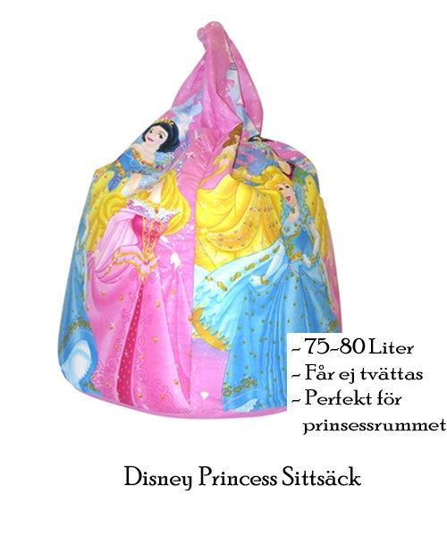 Sittsäck med prinsessa