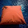 Saccosäck som man kan bada med