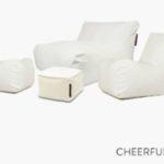 Cheerful sittsäckar