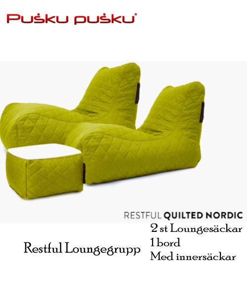 Restfull Loungegrupp
