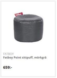 Fatboy sittpuff