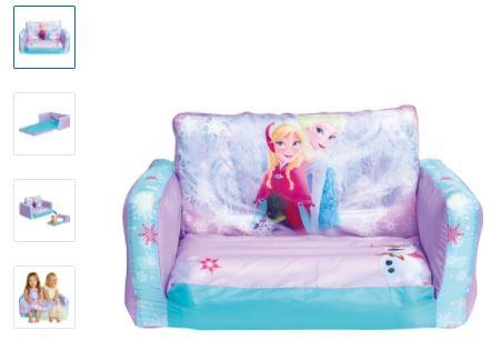 Uppblåsbar soffa frozen