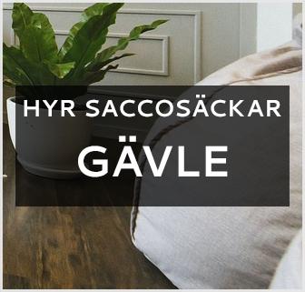 hyra saccosäck Gävle