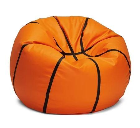 sittsäck som ser ut som basketboll