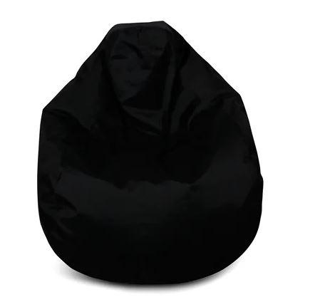 svart billig saccosäck för barn